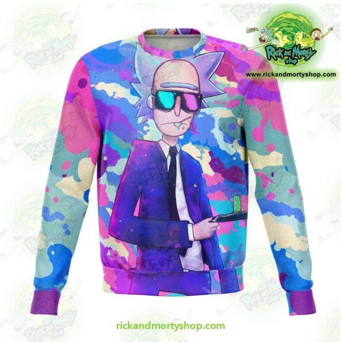 Rick And Morty Sweatshirt - Sanchez Cool Xs Athletic Aop