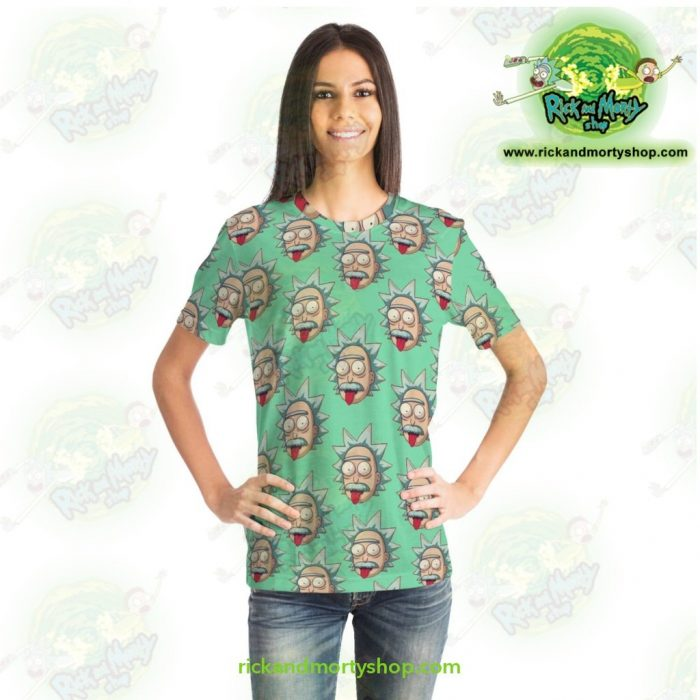 Rick And Morty T-Shirt - Funny Face Sanchez