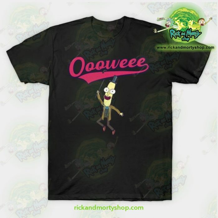 Rick And Morty T-Shirt - Professor Poopybutthole Oooweee Black / S T-Shirt