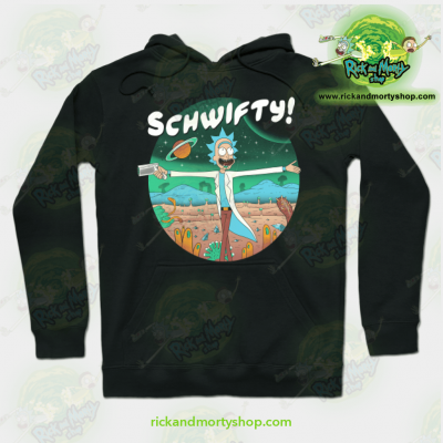 Rick And Morty The Sound Of Science Hoodie Black / S Athletic - Aop
