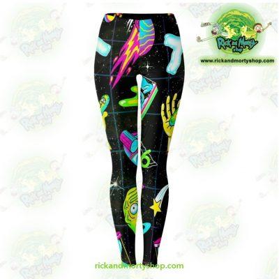 Rick And Morty Universe 3D Legging Xs Leggings - Aop