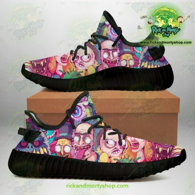 Rick And Morty Watercolor Yeezy Sneakers Men / Us6.5 Jd