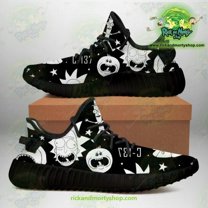 Rick And Morty Yeezy Sneakers Crazy C137 Men / Us6.5 Jd
