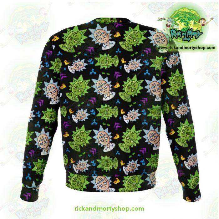 Rick & Morty 3D Sweatshirt - Cute Face Sanchez Athletic Aop