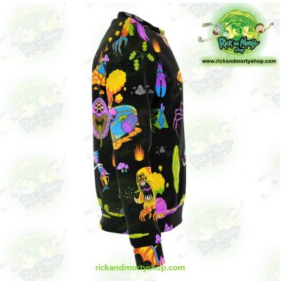 Rick & Morty Alien 3D Sweatshirt Athletic - Aop