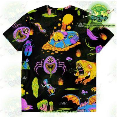 Rick & Morty Alien 3D T-Shirt