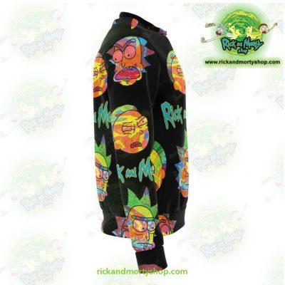 Rick & Morty Alien Face 3D Sweatshirt Athletic - Aop