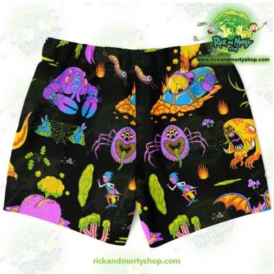 Rick & Morty Alien Swim Trunk Trunks Men - Aop