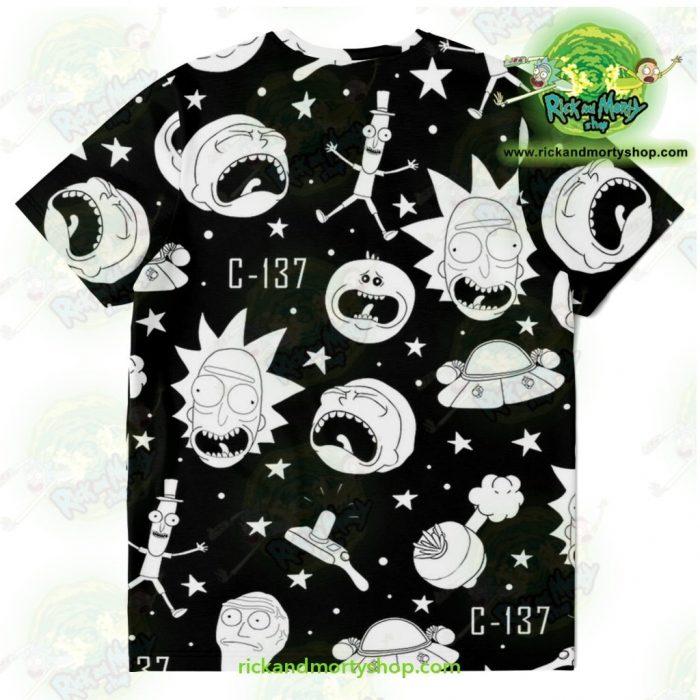 Rick & Morty Crazy C137 T-Shirt