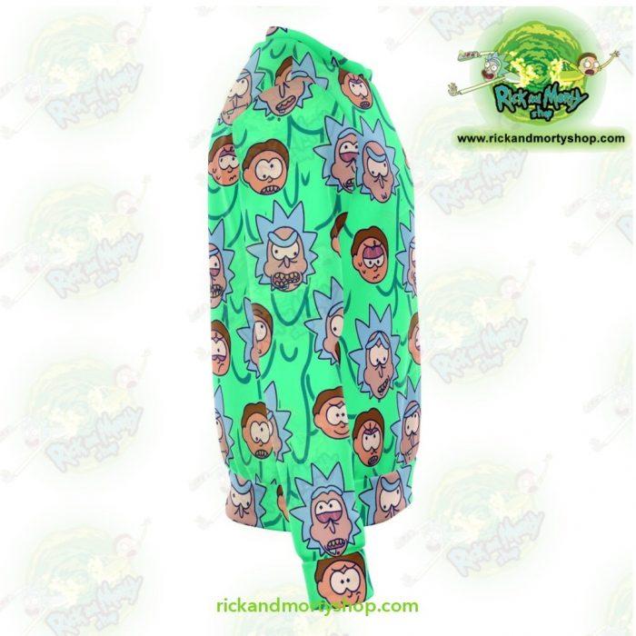 Rick & Morty Facial Expression 3D Sweatshirt Athletic - Aop