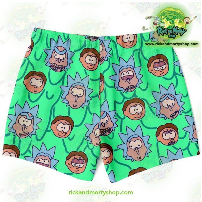 Rick & Morty Facial Expression Swim Trunk Trunks Men - Aop