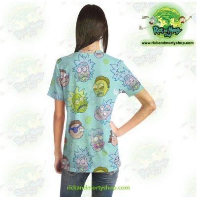 Rick & Morty Funny Face T-Shirt