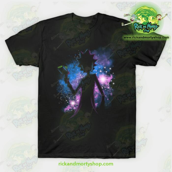 Rick & Morty Galaxy T-Shirt Black / S T-Shirt