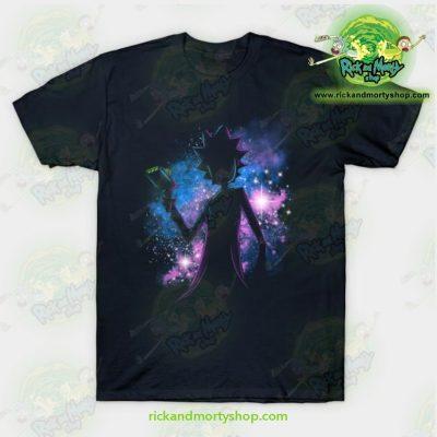 Rick & Morty Galaxy T-Shirt Navy / S T-Shirt
