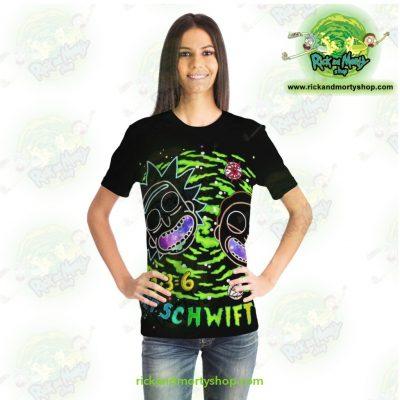 Rick & Morty Get Schwifty 3D T-Shirt