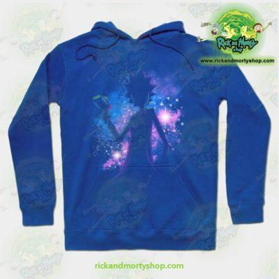 Rick & Morty Hoodie - Galaxy Sanchez Blue / S Athletic Aop