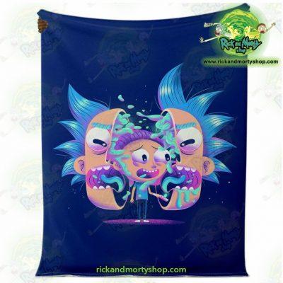 Rick & Morty Horror Microfleece Blanket Premium - Aop