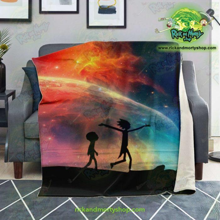 Rick & Morty Microfleece Blanket Red Sky Premium - Aop