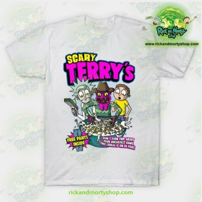 Rick & Morty Scary Terrys T-Shirt White / S T-Shirt