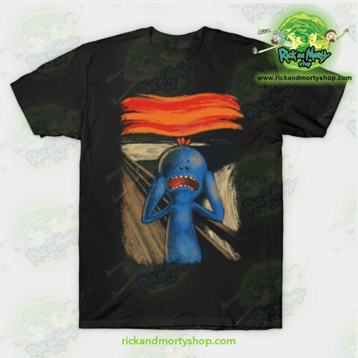 Rick & Morty Scream Of Pain T-Shirt Black / S T-Shirt