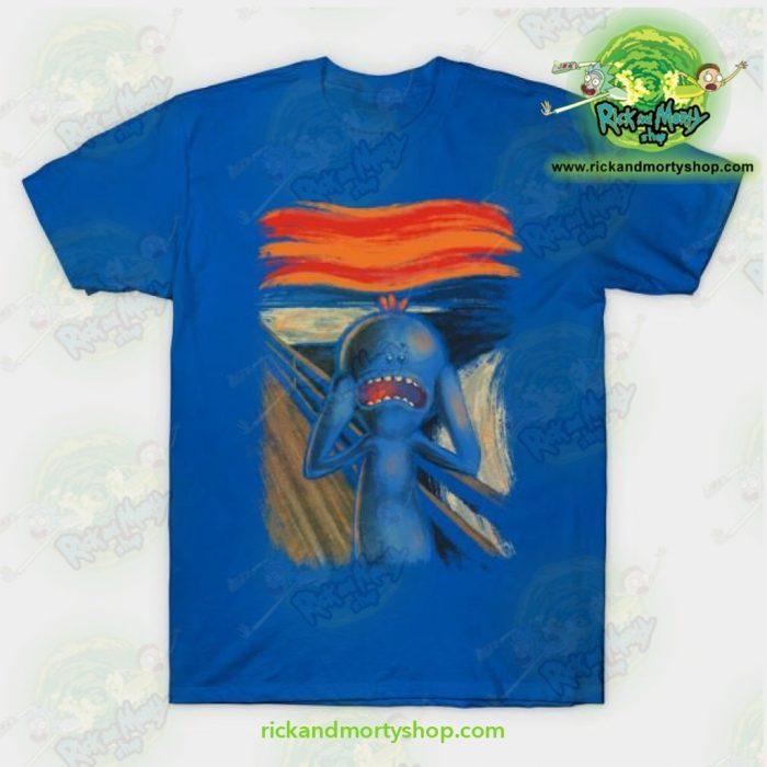 Rick & Morty Scream Of Pain T-Shirt Blue / S T-Shirt