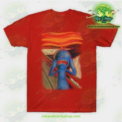 Rick & Morty Scream Of Pain T-Shirt Red / S T-Shirt