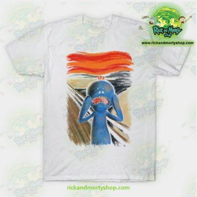Rick & Morty Scream Of Pain T-Shirt White / S T-Shirt