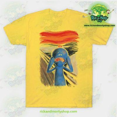 Rick & Morty Scream Of Pain T-Shirt Yellow / S T-Shirt