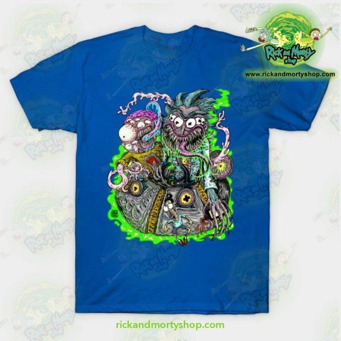 Rick & Morty Space Travel T-Shirt Blue / S T-Shirt