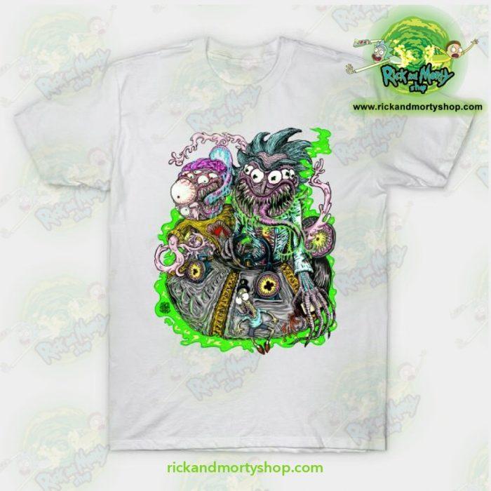 Rick & Morty Space Travel T-Shirt White / S T-Shirt
