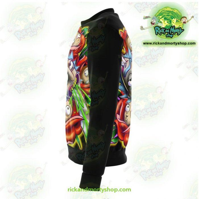Rick & Morty Sweatshirt 3D Design Limited Stocks Athletic - Aop