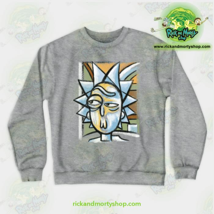 Rick & Morty Sweatshirt - Abstract Crewneck Grey / S Athletic Aop