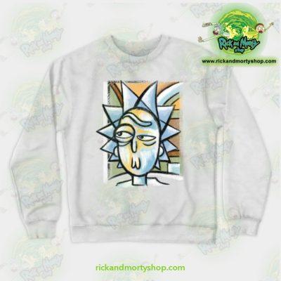 Rick & Morty Sweatshirt - Abstract Crewneck White / S Athletic Aop