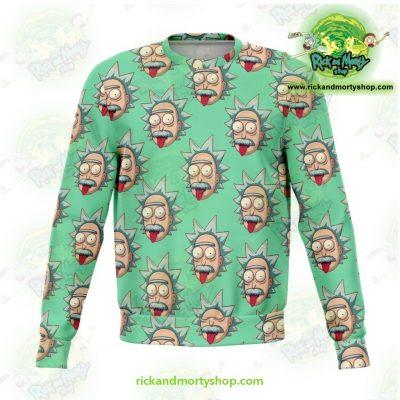 Rick & Morty Sweatshirt - Funny Face Sanchez Xs Athletic Aop