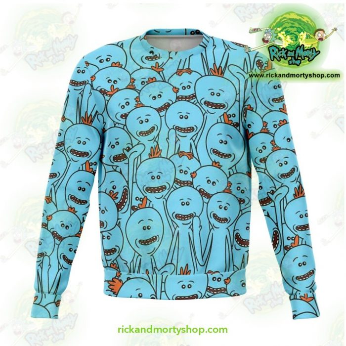 Rick & Morty Sweatshirt - Many Meeseeks Xs Athletic Aop