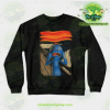 Rick & Morty Sweatshirt - Scream Of Pain Crewneck Black / S Athletic Aop