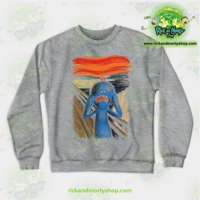 Rick & Morty Sweatshirt - Scream Of Pain Crewneck Gray / S Athletic Aop
