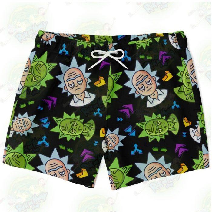 Rick & Morty Swim Trunk - Cute Face Sanchez Xs Trunks Men Aop