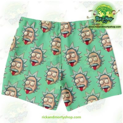 Rick & Morty Swim Trunk - Funny Face Sanchez Trunks Men Aop