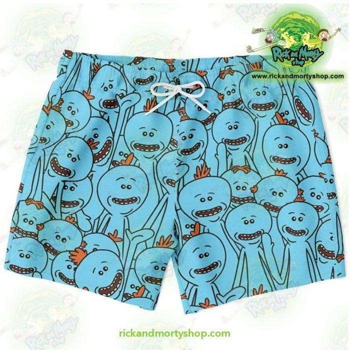 Rick & Morty Swim Trunk - Many Meeseeks Xs Trunks Men Aop