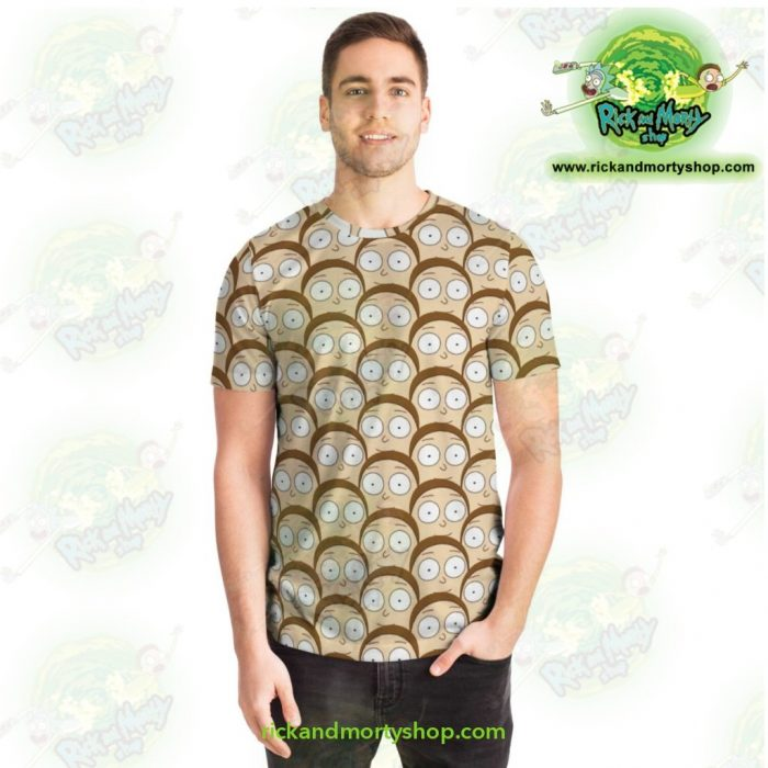 Rick & Morty T-Shirt - Many Mortys Face