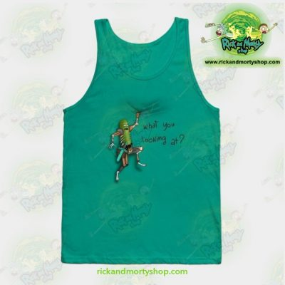 A Pickle Rick on your tee!