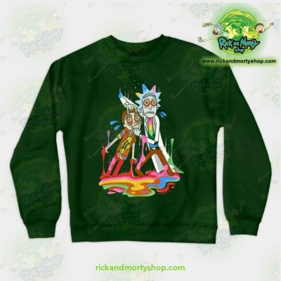 Rick & Morty Tripp Crewneck Sweatshirt Green / S Athletic - Aop