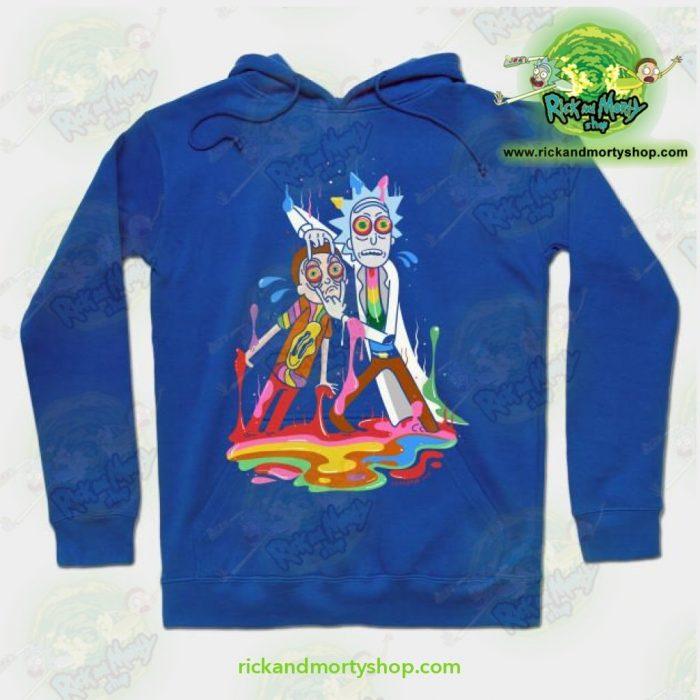 Rick & Morty Tripp Hoodie Blue / S Athletic - Aop