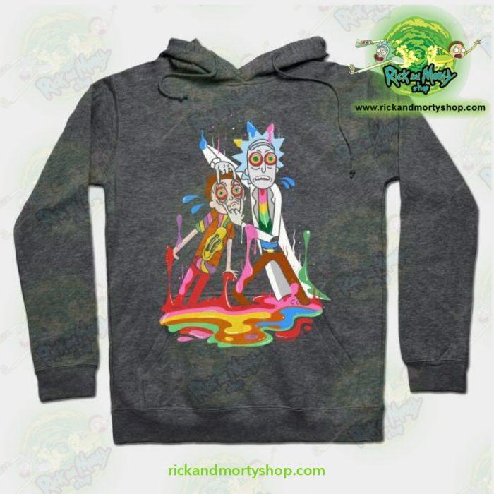Rick & Morty Tripp Hoodie Grey / S Athletic - Aop