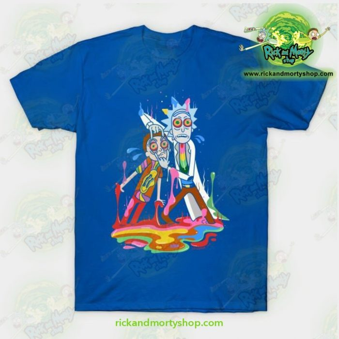 Rick & Morty Tripp T-Shirt Blue / S T-Shirt