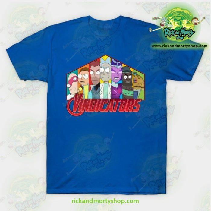 Rick & Morty Vindicators T-Shirt Blue / S T-Shirt