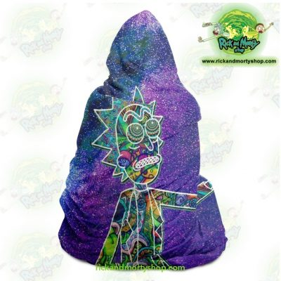 Rick Sanchez 3D Galaxy Hooded Blanket - Aop