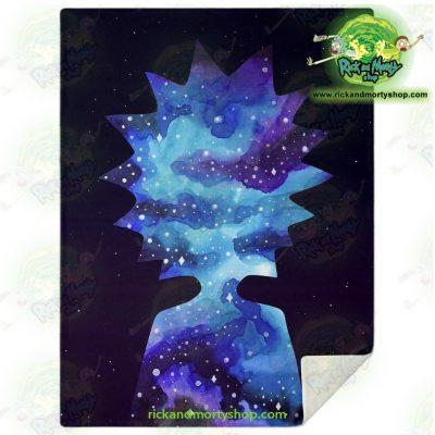 Rick Sanchez 3D Galaxy Microfleece Blanket M Premium - Aop