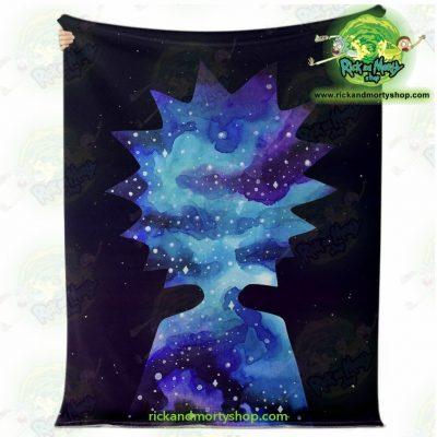 Rick Sanchez 3D Galaxy Microfleece Blanket Premium - Aop